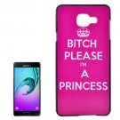 For Galaxy A3(2016) Princess Pattern PC Protective Case