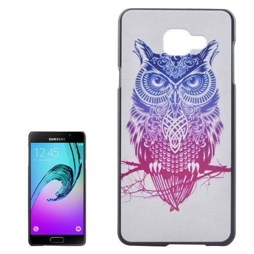 For Galaxy A3(2016) Owl Pattern PC Protective Case