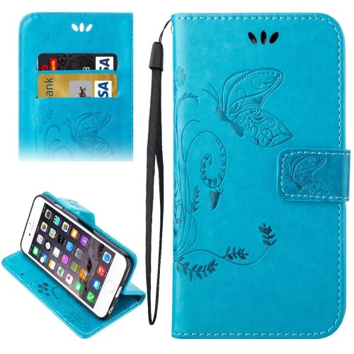 For iPhone 6/6s Crazy Horse Printing Leather Case with Holder, Wallet & Card Slots # Colors