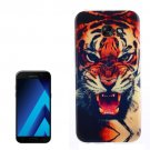 For Galaxy A3(2017) Tiger Pattern TPU Back Case