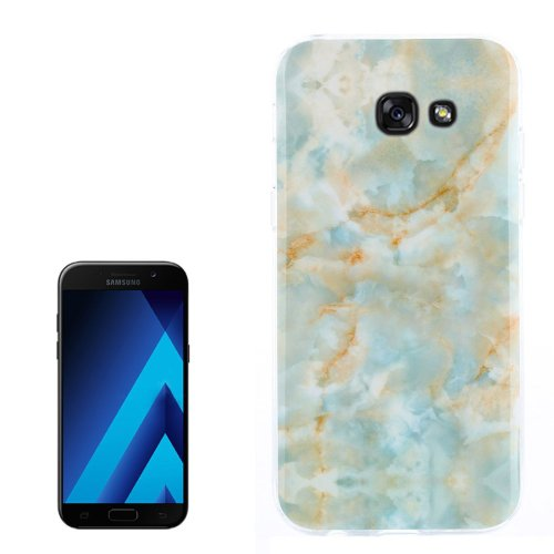 For Galaxy A3(2017) Emerald Pattern TPU Back Case