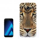 For Galaxy A7(2017) / A720 Leopard Pattern TPU Back Case