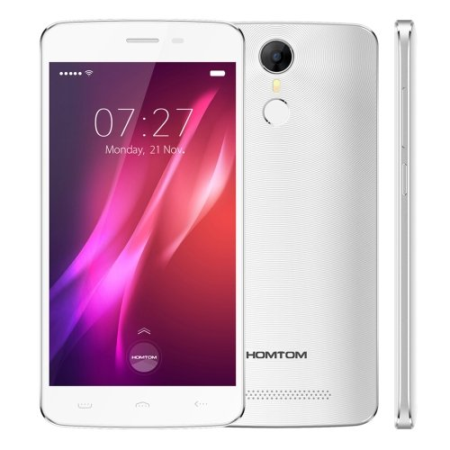 Fingerprint Identification 5.5 inch Android 6.0, MTK6580 Quad Core HOMTOM HT27 Phone # Colors