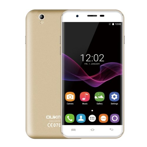 5.5 inch 2.5D Curved Screen, Android 6.0 OS, MT6580A OUKITEL U7 Max Phone # Colors