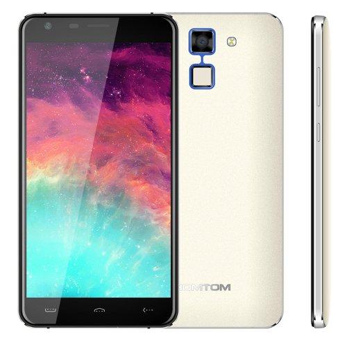 Fingerprint Identification, 5.5 inch 2.5D Android 6.0, MTK6580 HOMTOM HT30 Phone # Colors