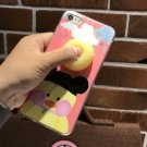 For iPhone 7 3D Duck cartoon Pattern IMD Workmanship Squishy Back Cover Case