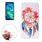 For iPhone 8 Watercolors Dream Catcher Pattern TPU Protective Case