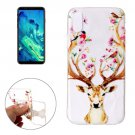 For iPhone 8 Cervus Nippon Pattern TPU Protective Case
