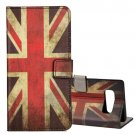 For Galaxy Note 8 UK Flag Pattern Leather Case with Holder, Card Slots & Wallet