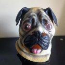 Popular Lovely Halloween Mask Masquerade Emulsion Shar Pei Dog Mask