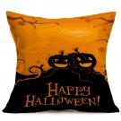 Halloween Decoration Pattern Car Sofa Pillowcase - E - Size:43 x 43 cm