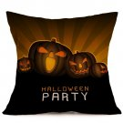 Halloween Decoration Pattern Car Sofa Pillowcase - L - Size:43 x 43 cm