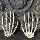 One Pair Halloween Skeleton Hands Haunted House Decoration Props