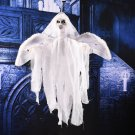 White Flying Hanging Ghost Scary Sound and Moving for Halloween Decorations