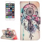 For iPhone 8+&7+ Dream Catcher Leather Case with Holder, Card Slots & Wallet