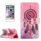 For iPhone 8+&7+ Windbell Pattern Leather Case with Holder, Card Slots & Wallet