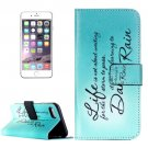 For iPhone 8+&7+ Dancing Pattern Leather Case with Holder, Card Slots & Wallet