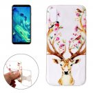 For iPhone X Cervus Nippon Pattern TPU Protective Case