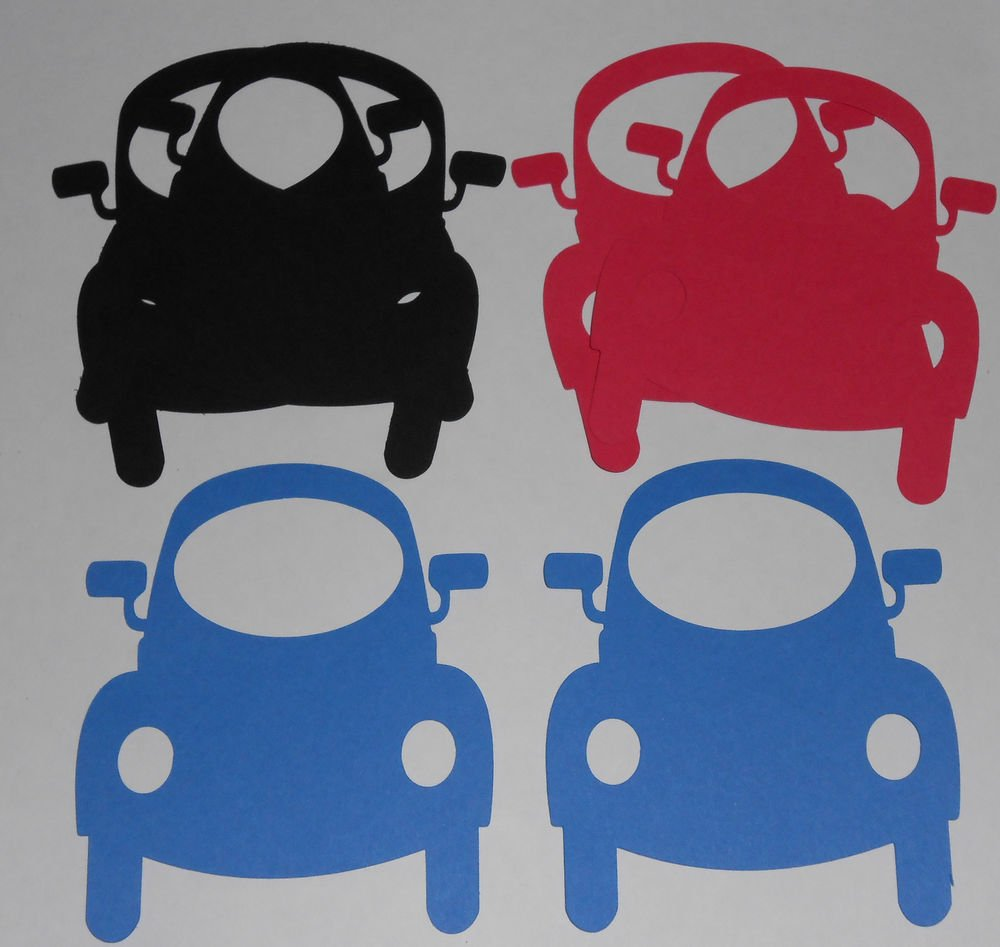 6 Picture Frame Cars/Scrapbooking/Embellishments/Frames/Die Cuts/Paper Cuts