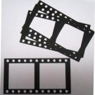 Set Of 4 Die Cut Filmstrip Picture Frames/Scrapbooking/Filmstrips/Embellishments/Scrapbooking/Frames
