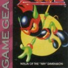 "Zool Ninja Of The ""Nth"" Dimension Game Gear"