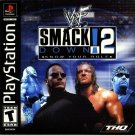 WWF Smackdown 2 PS1 Great Condition Complete Fast Shipping