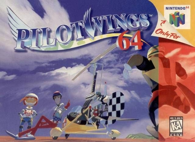 Pilotwings 64 N64 Great Condition Fast Shipping