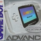 Nintendo Gameboy Advance Platinum Great Condition Fast Shipping