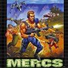 Mercs Sega Genesis Great Condition Fast Shipping