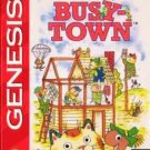 Richard Scarry's Busy Town Sega Genesis Great Condition Fast Shipping