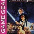 Super Star Wars Return Of The Jedi Game Gear Rare