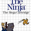 Ninja Sega Master Great Condition Fast Shipping