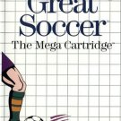 Great Soccer Sega Master Great Condition Fast Shipping