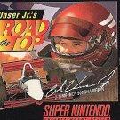 Al Unser Jr's Road To The Top SNES Fast Shipping