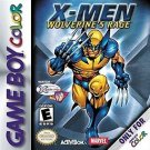 X-Men Wolverine's Rage Gameboy Color Fast Shipping
