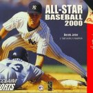 All-Star Baseball 2000 N64 Great Condition Fast Shipping