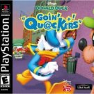 Disney's Donald Duck Goin' Quackers PS1 Fast Shipping