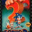 Sonic The Hedgehog 2 Sega Genesis Great Condition
