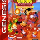 Great Circus Mystery Sega Genesis Great Condition Fast Shipping