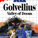 Golvellius Valley Of Doom Sega Master Great Condition Complete Fast Shipping