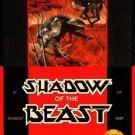 Shadow Of The Beast Sega Genesis Great Condition