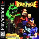 Rampage World Tour PS1 Great Condition Complete Fast Shipping