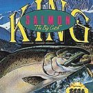 King Salmon The Big Catch Sega Genesis Great Condition