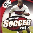 World Tour Soccer 2003 PS2 Great Condition Complete