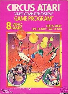 Circus Atari Atari 2600 Great Condition Fast Shipping