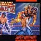 Saturday Night Slam Masters SNES Great Condition Fast Shipping