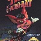 Aero The Acrobat Sega Genesis Great Condition