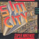 Sim City SNES Great Condition Fast Shipping