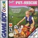 Barbie Pet Rescue Gameboy Color Great Condition