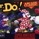 Mr. Do! SNES Great Condition Fast Shipping Rare